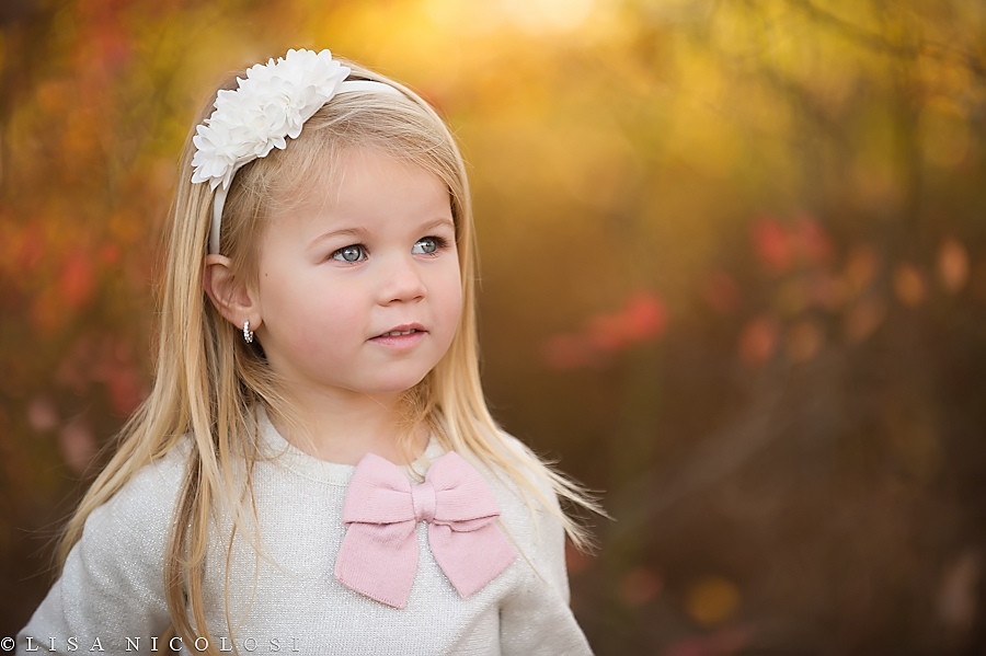 The gorgeous colors of Atumn in Children Portraiture