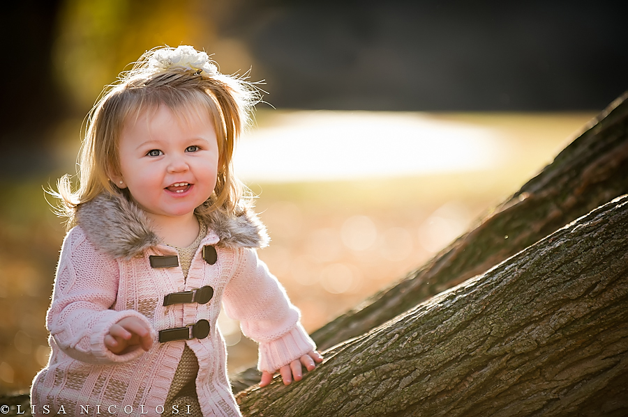 Emily's Fall Photo Session. What a Tot!