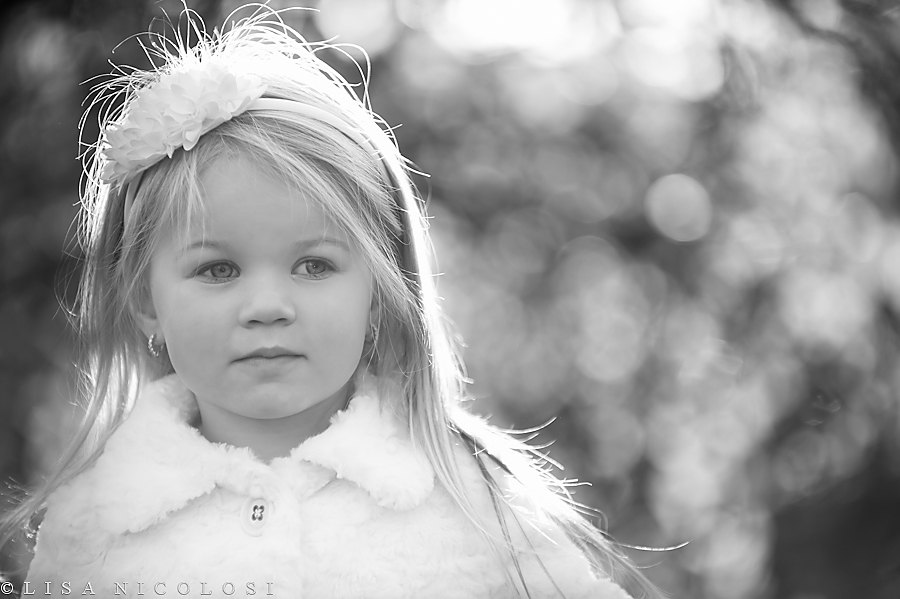 Black And White photo of Madelynn