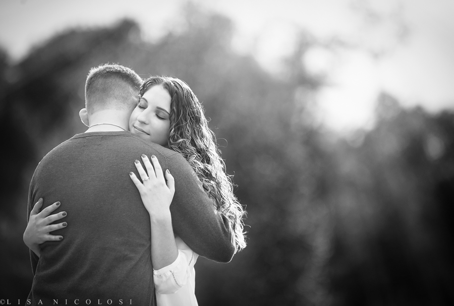 Best Long Island Wedding Photographer - Romantic Long Island NY Fall Engagement Session
