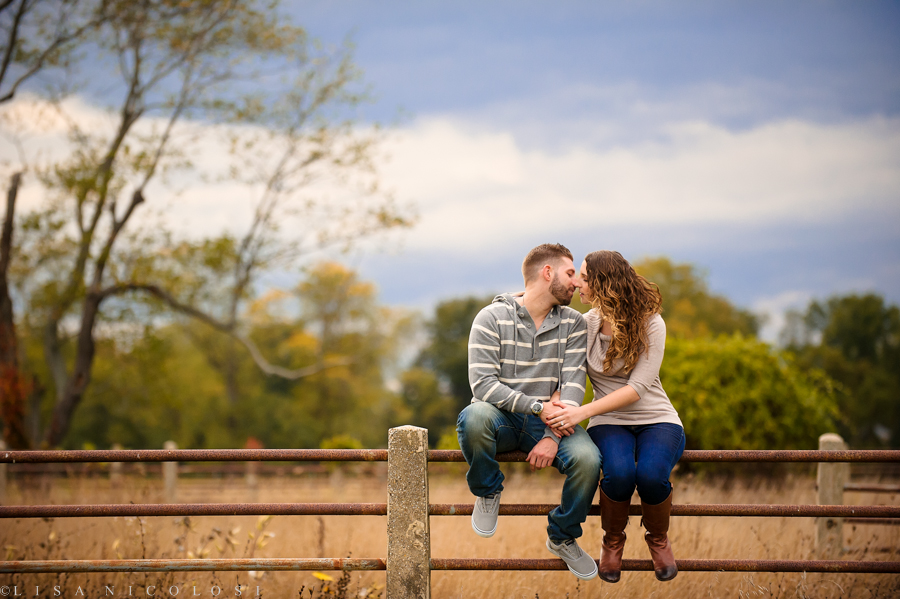 Long Island Engagement Session at Caumsett State Park