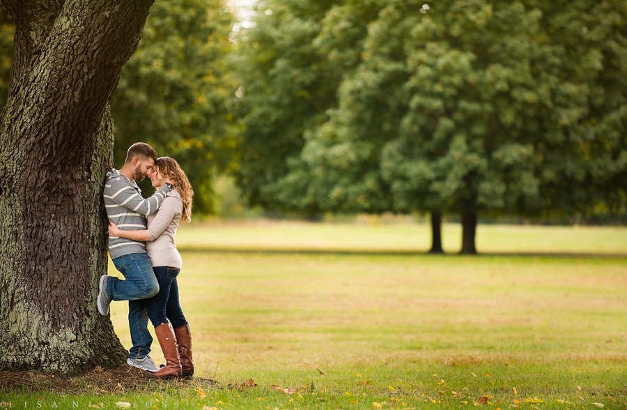 Romantic Long Island NY Fall Engagement Session - Best Long Island Wedding Photographer