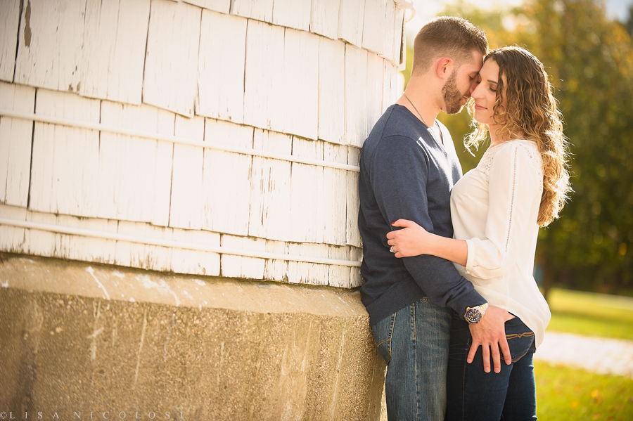 Best Long Island Wedding Photographer -  Engagement Session at Caumsett State Park