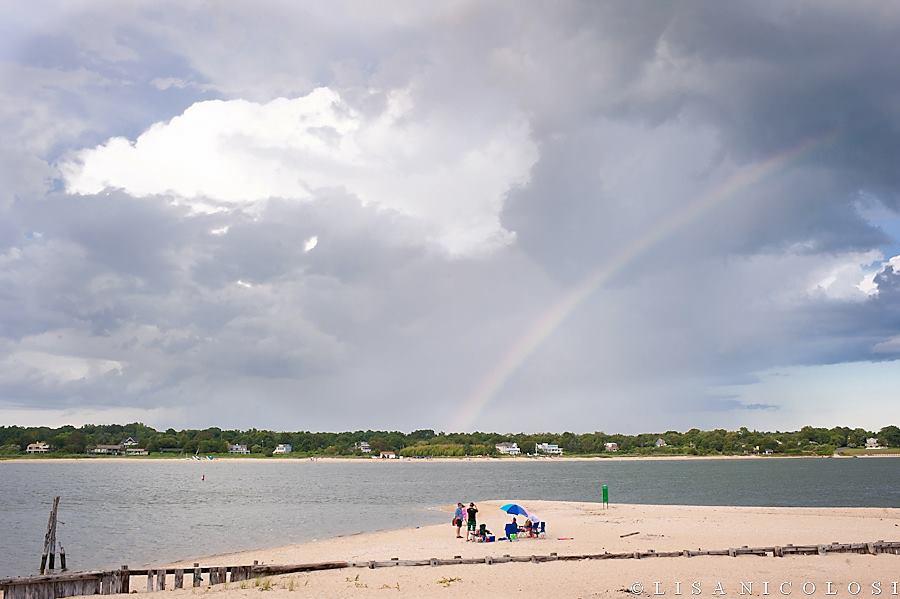 Shell Beach Shelter Island NY - East End Wedding Photographer