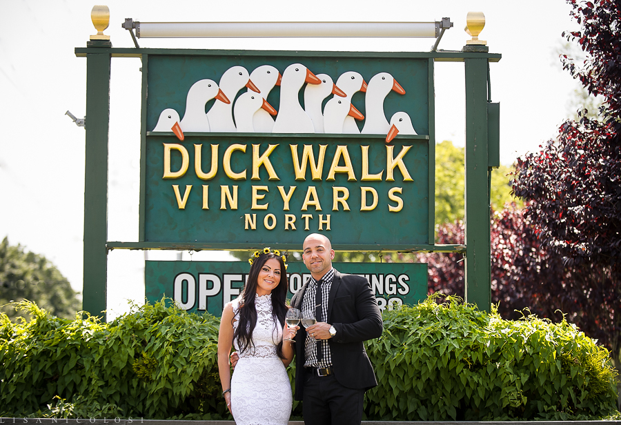 Weddings at Duckwalk Vineyards- North Fork Wedding Photographer