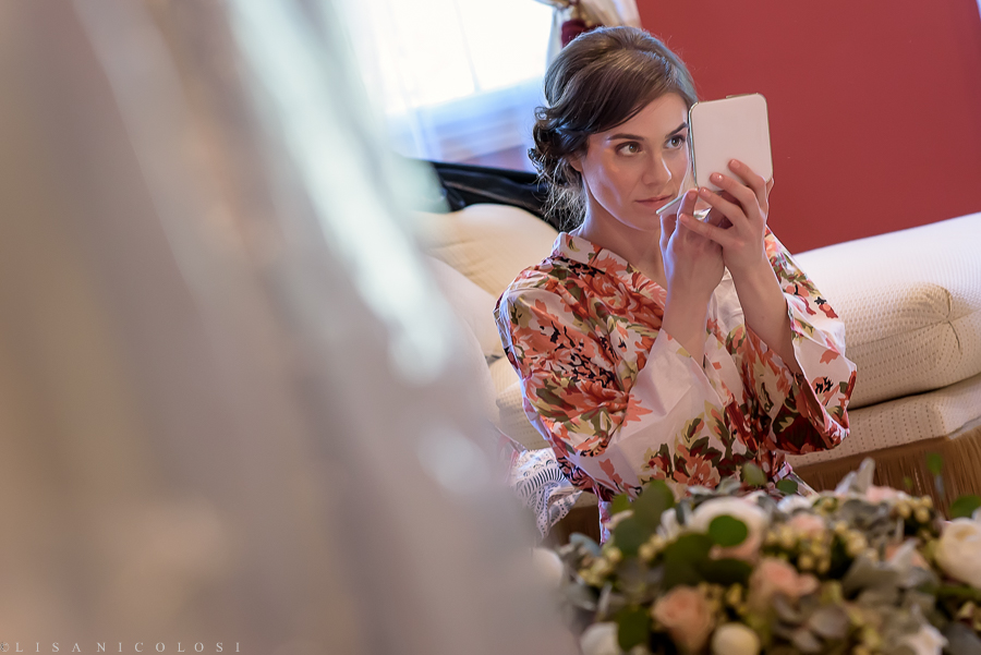 Wedding at The Hempstead House - Sands Point Preserve Wedding - Bride getting ready - Long Island Wedding photography