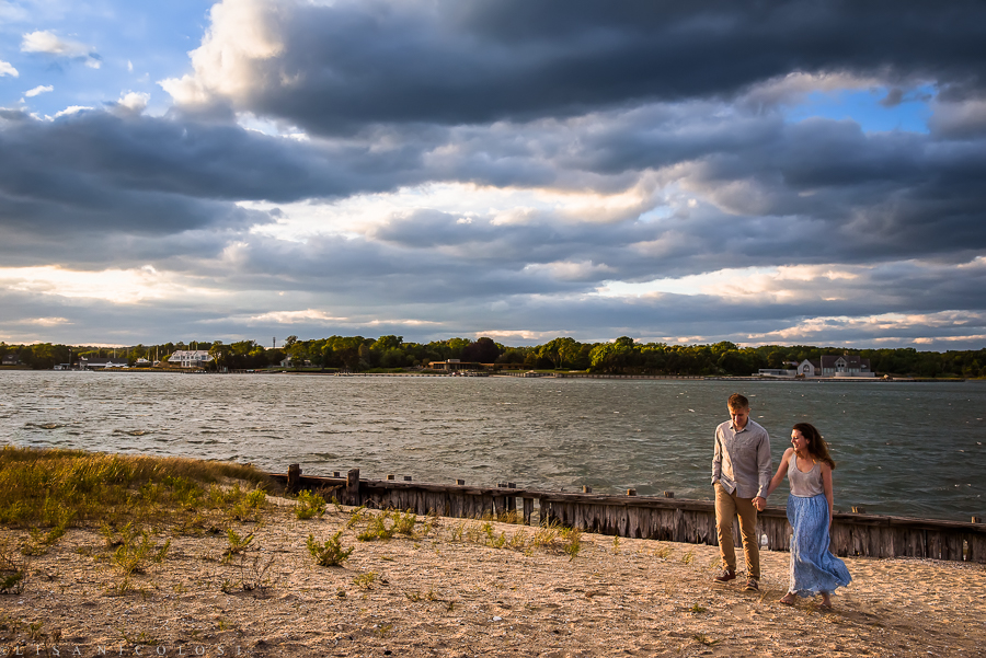 Shelter Island Engagement Session