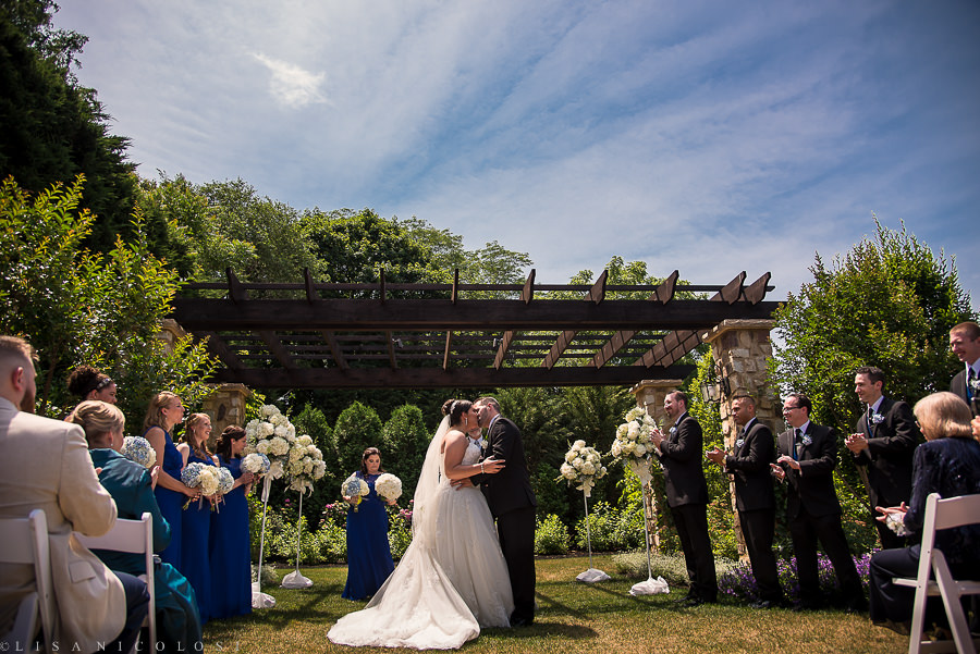 Wedding at The Larkfield in East Northport NY