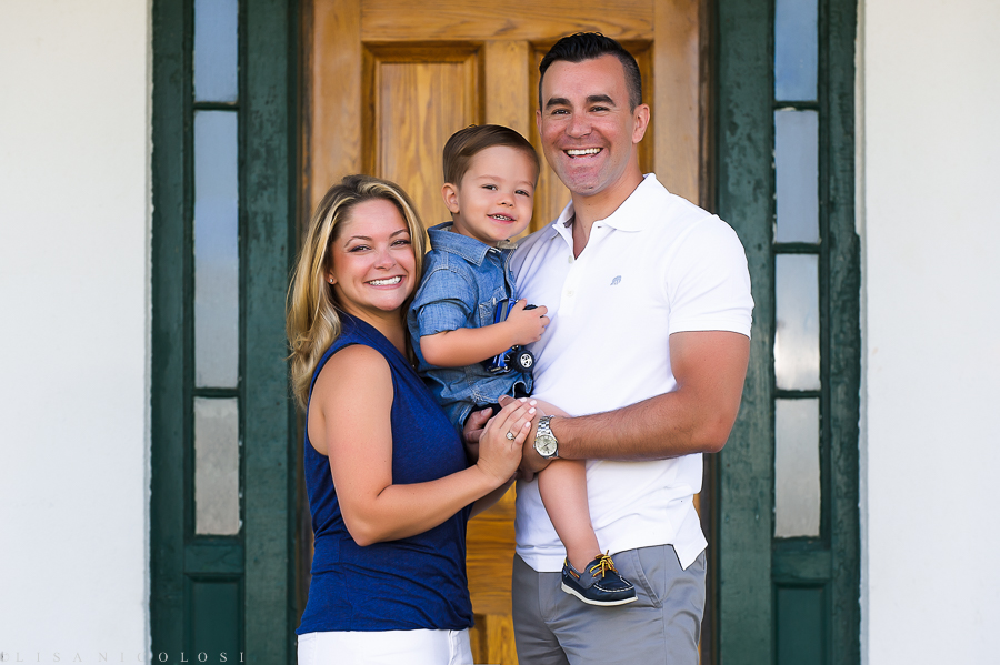 North Fork Family Photo Session at Horton Point Lighthouse
