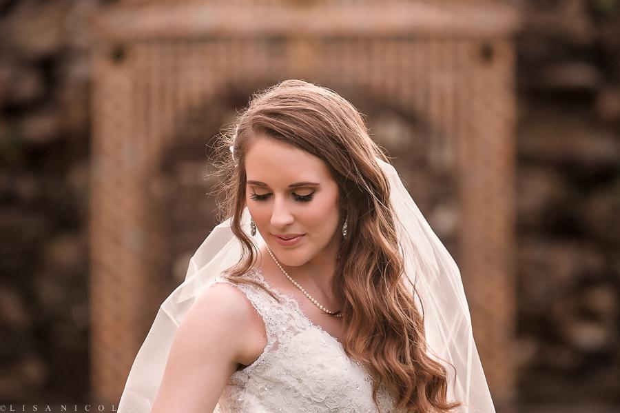 Fox Hollow Wedding - Long Island Wedding Photojournalist - Bride Portrait Somerley Room