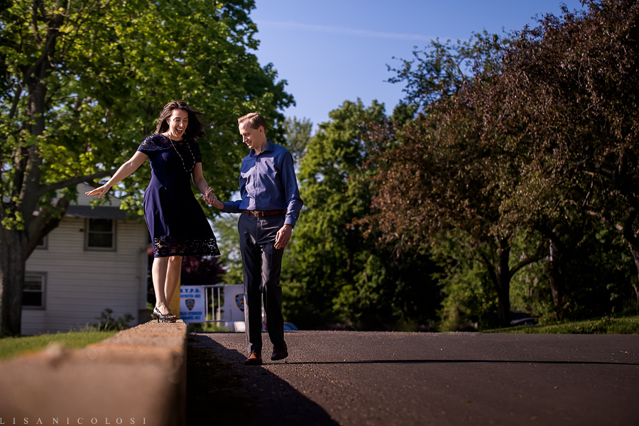 New York City Engagement Session - New York Fine Art Wedding Photographer - Fort Totten NYC