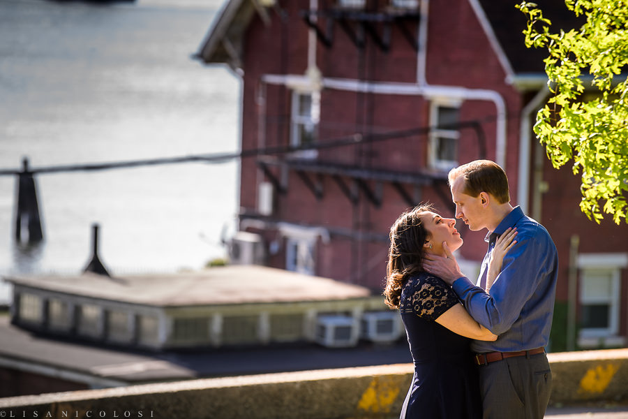 Fine Art New York Wedding Photographer - NYC Engagement Portraits - Fort Totten Park - East End Wedding Photographer
