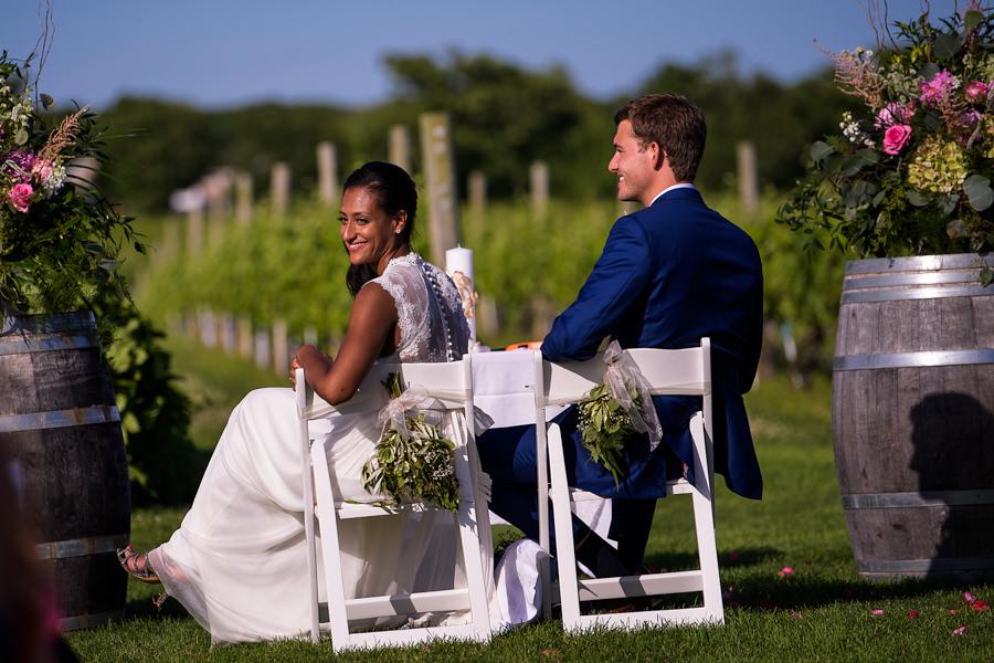 Wolffer Estate Wedding - East End Wedding Photographer - Hamptons Wedding Ceremony