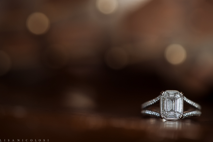 Engagement Ring - New York Botanical Garden Wedding Photographer