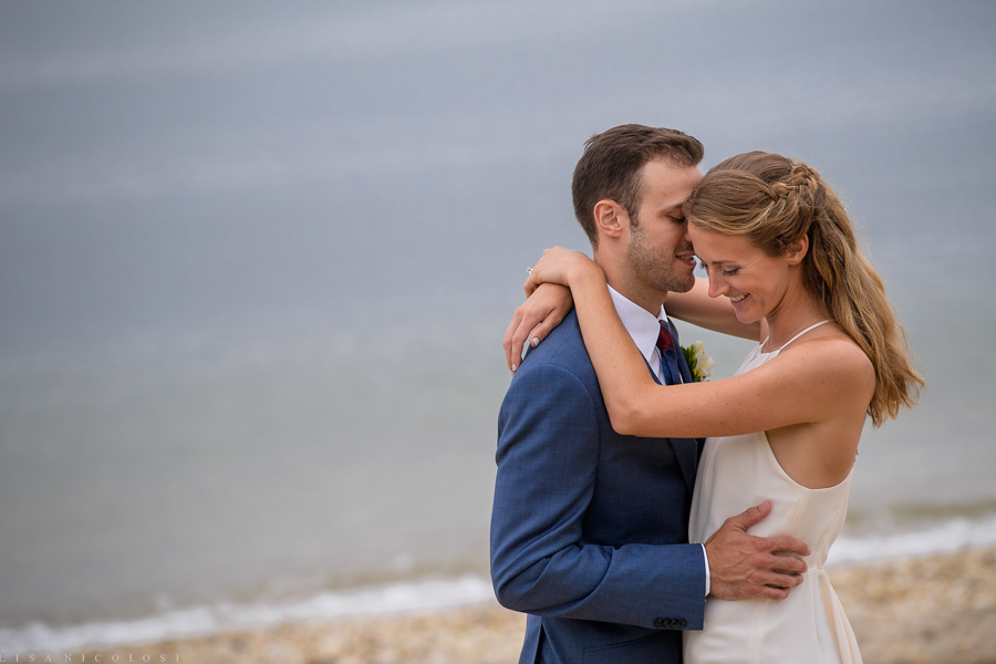 Sebonack Golf Club Wedding Photos - East End Wedding Photographer - Southampton Wedding - Portrait of bride and groom
