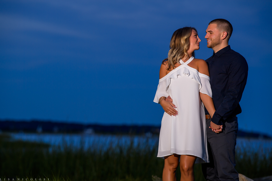 Engagement Portrait of bride and groom to be - Long Island Wedding Photographer - East End Wedding Photographer