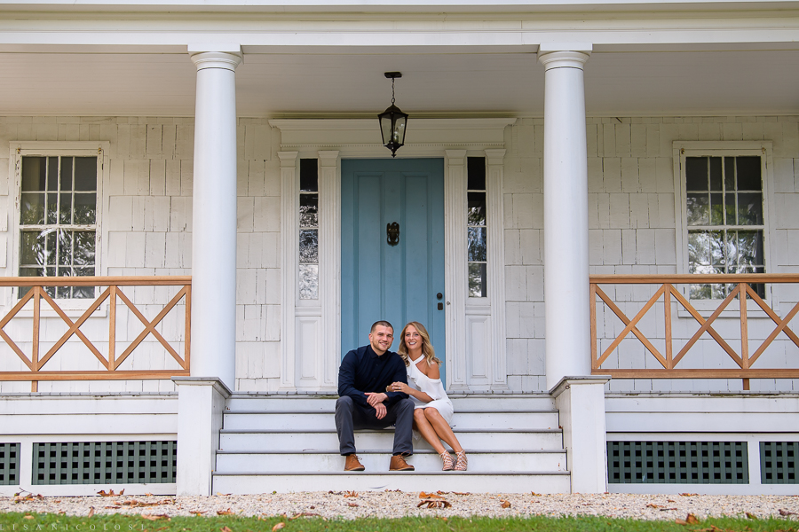 Long Island Wedding Photographer - Lloyd Harbor Engagement Session - Natural Wedding Photos