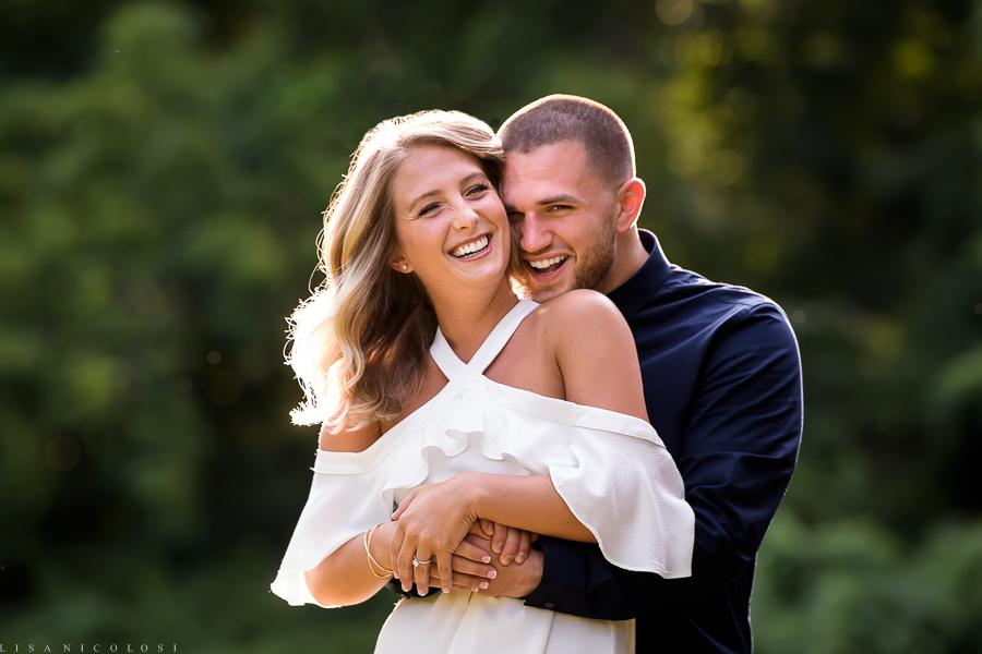 Best Long Island Wedding Photographer - Lloyd Harbor Engagement Photography Session