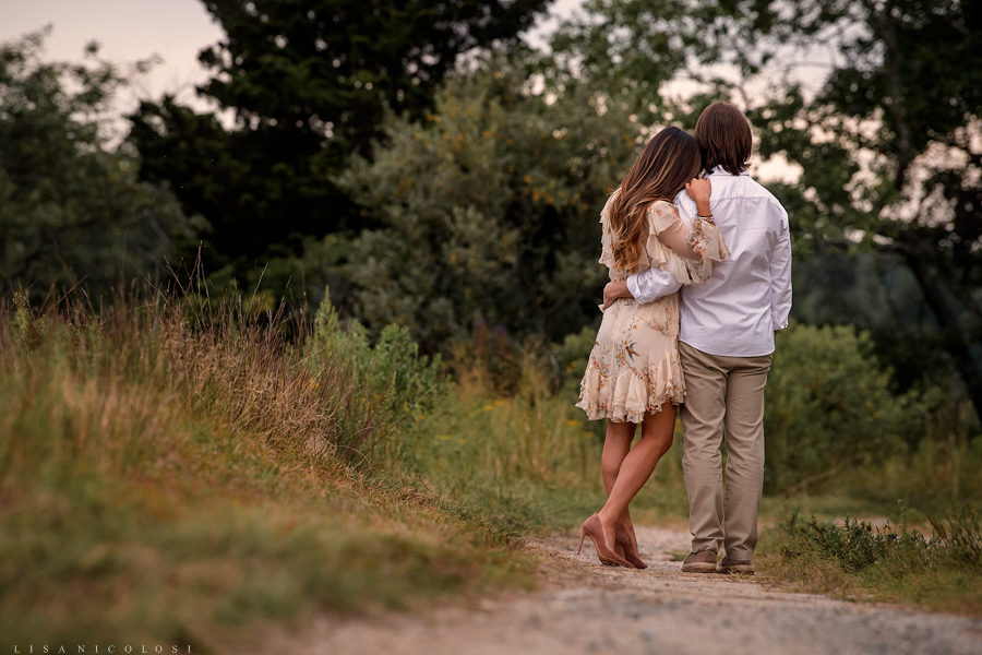 Rustic Long Island Wedding Photographer - North Fork Engagement Session - Shelter Island - East End Wedding Photographer