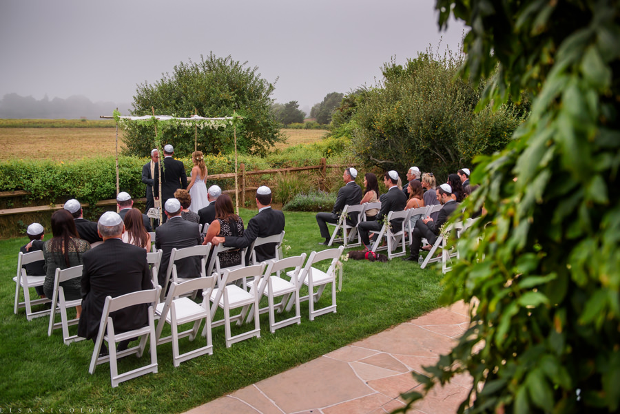 Intimate Backyard Hamptons Wedding - East End Wedding Photographer - Jewish Wedding Ceremony