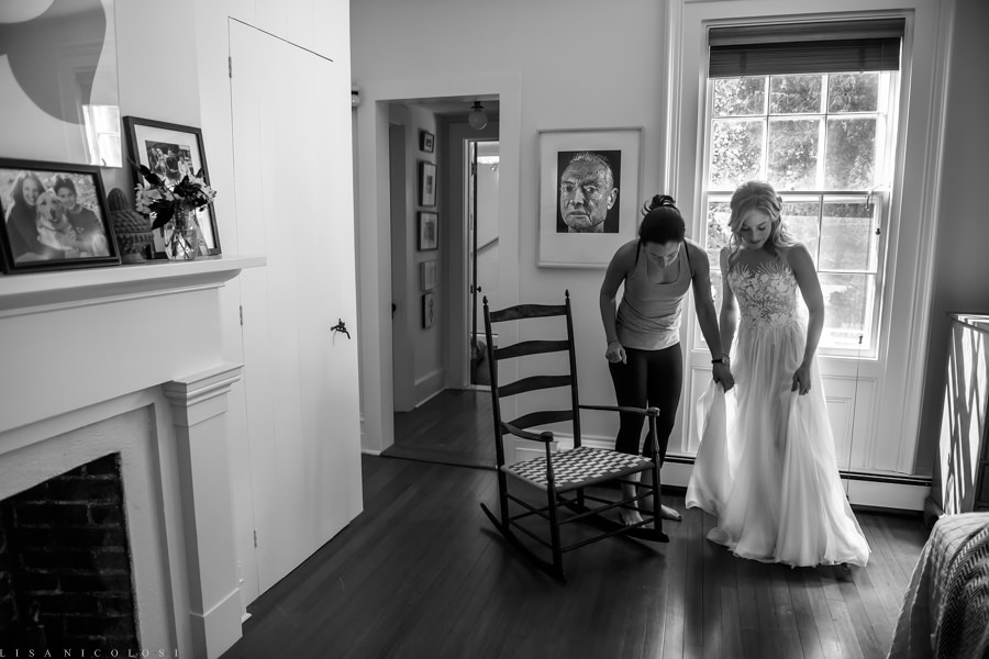Intimate Wedding in the Hamptons - East End Wedding Photographer -Hampton's Wedding - Bride