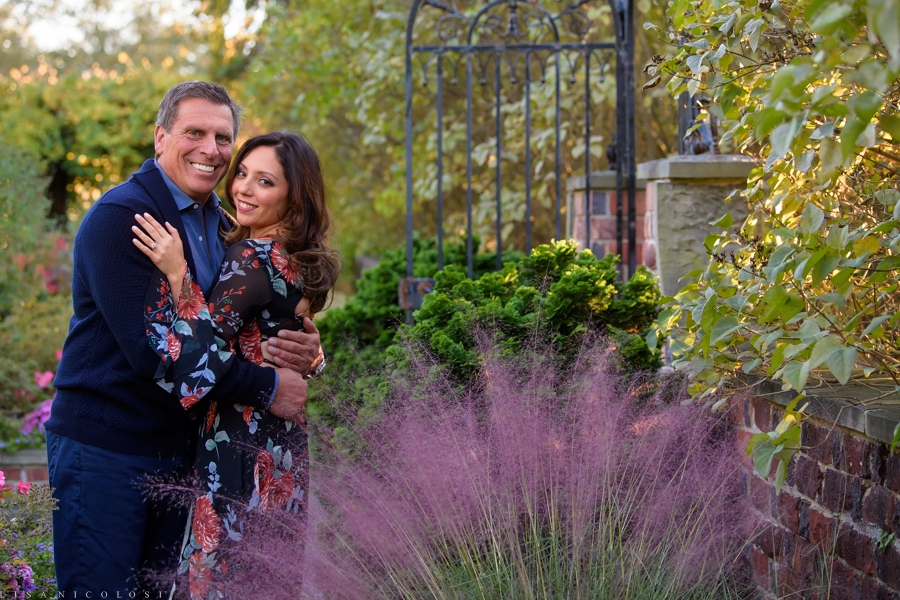 Long Island Fall Engagement Session - Planting Fields - Oyster Bay