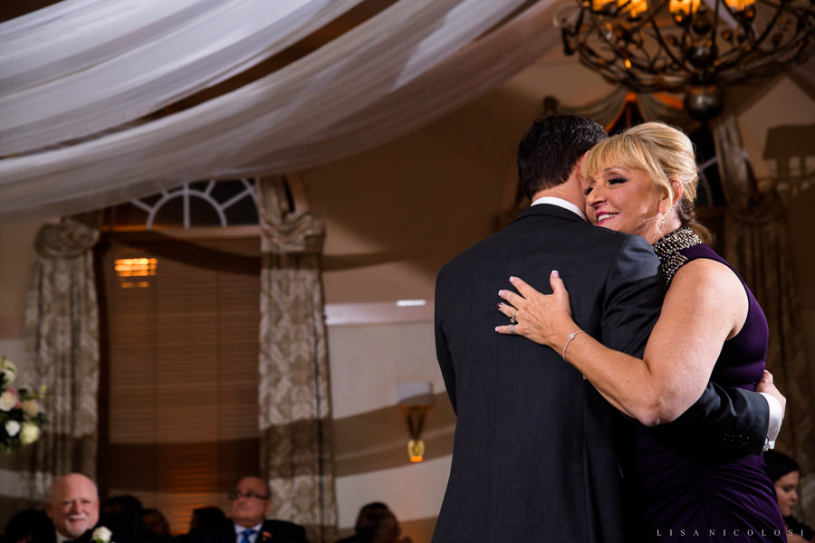 NJ Wedding Photography at The Madison - Wedding Reception - Mother and Son Dance