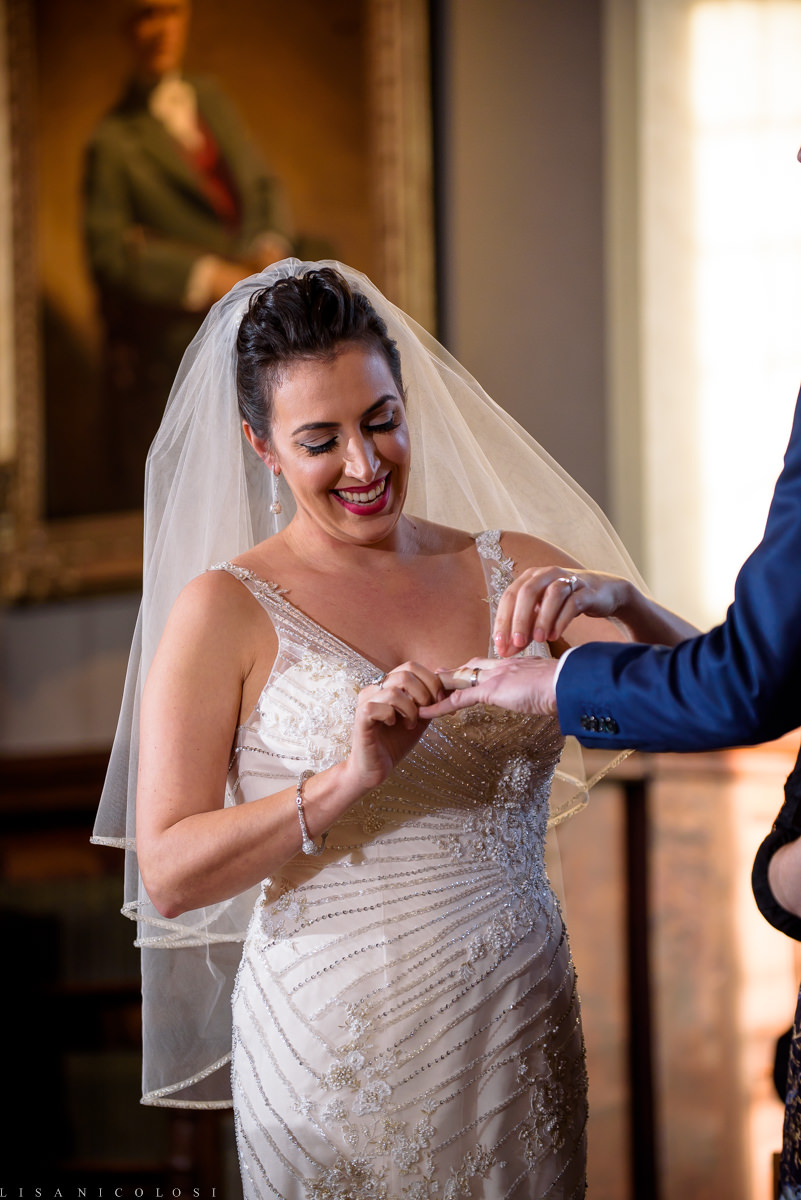 Planting Fields Wedding Ceremony at Coe Hall Mansion - Creative Long Island Wedding Photography - Long Island Wedding Venue