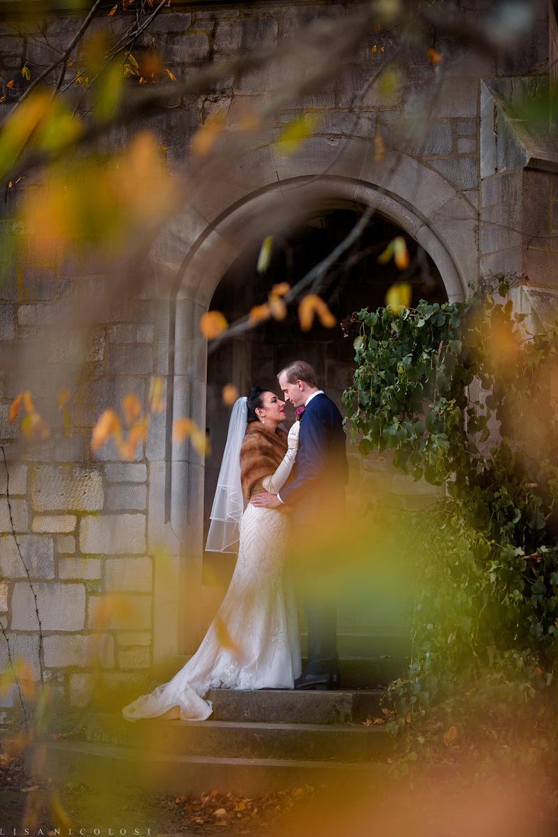 Planting Fields Wedding- North Fork Wedding Photographer - Creative Long Island Wedding Photography - Bride and Groom Portraits
