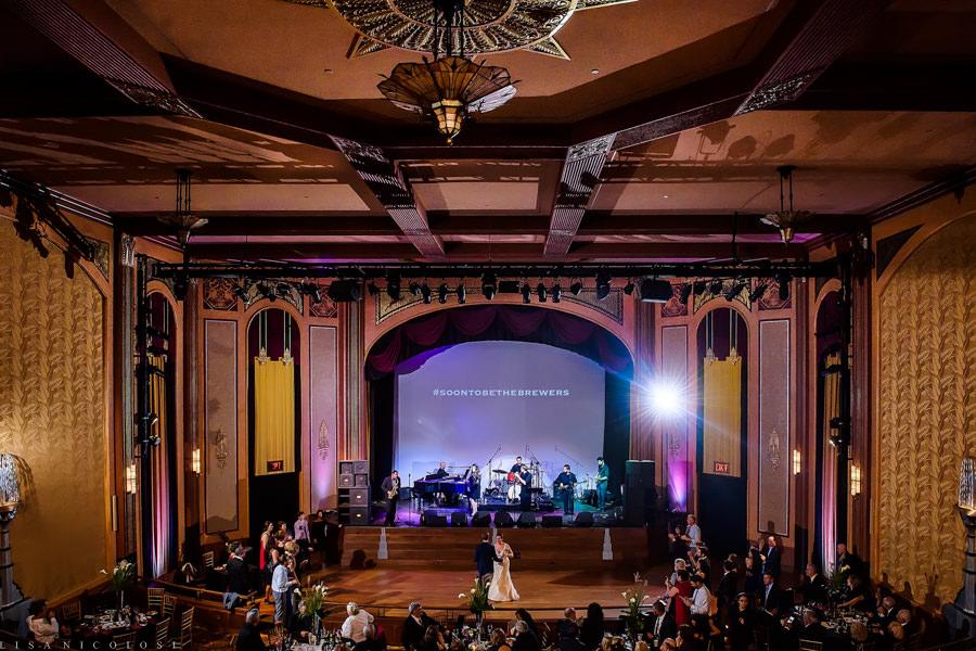Suffolk Theater Wedding Photographer - Wedding Reception - North Fork Wedding Photographer