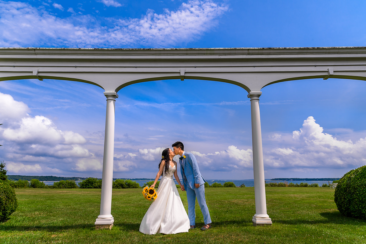 Wedding at The Old Field Vineyard -Best Long Island Wedding Photographer - Bride and Groom Portraits