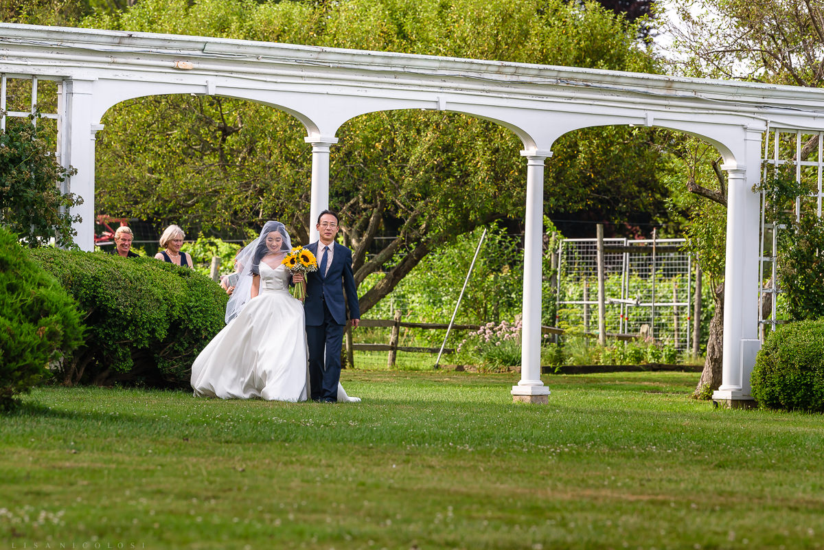 Wedding at The Old Field Vineyard - Best Long Island Wedding Photographer - North Fork Wedding Ceremony