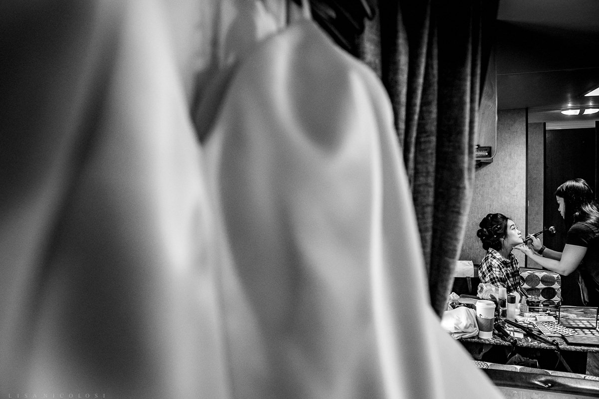 Wedding at Old Field Club - North Fork Photographer - Bride getting ready