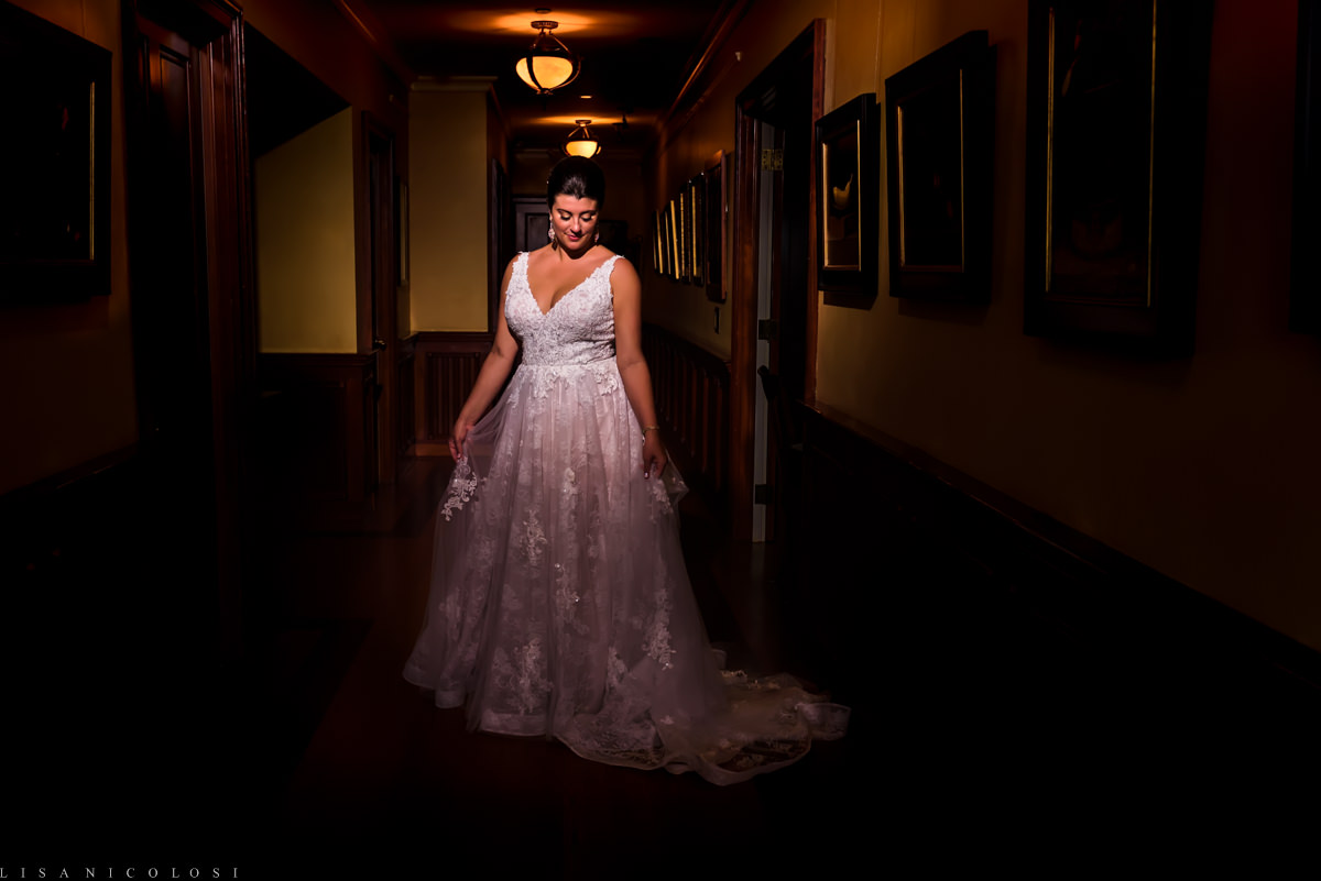 Wedding at Jamesport Manor Inn - Bride portrait - North Fork Wedding Photographer