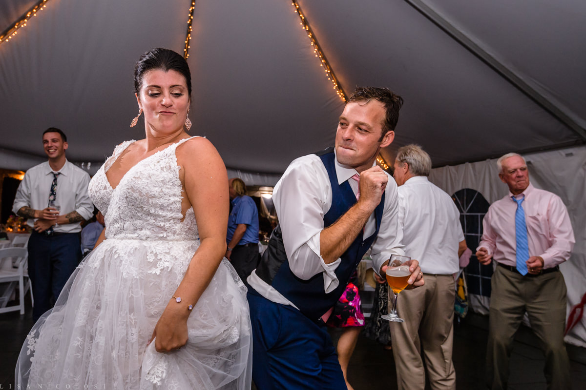 Wedding at Jamesport Manor Inn - Wedding Reception - North Fork Wedding Photographer