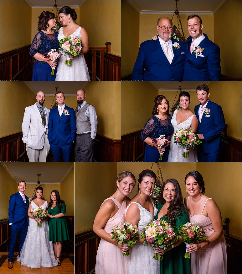 Wedding at Jamesport Manor Inn - Family Formal Portraits