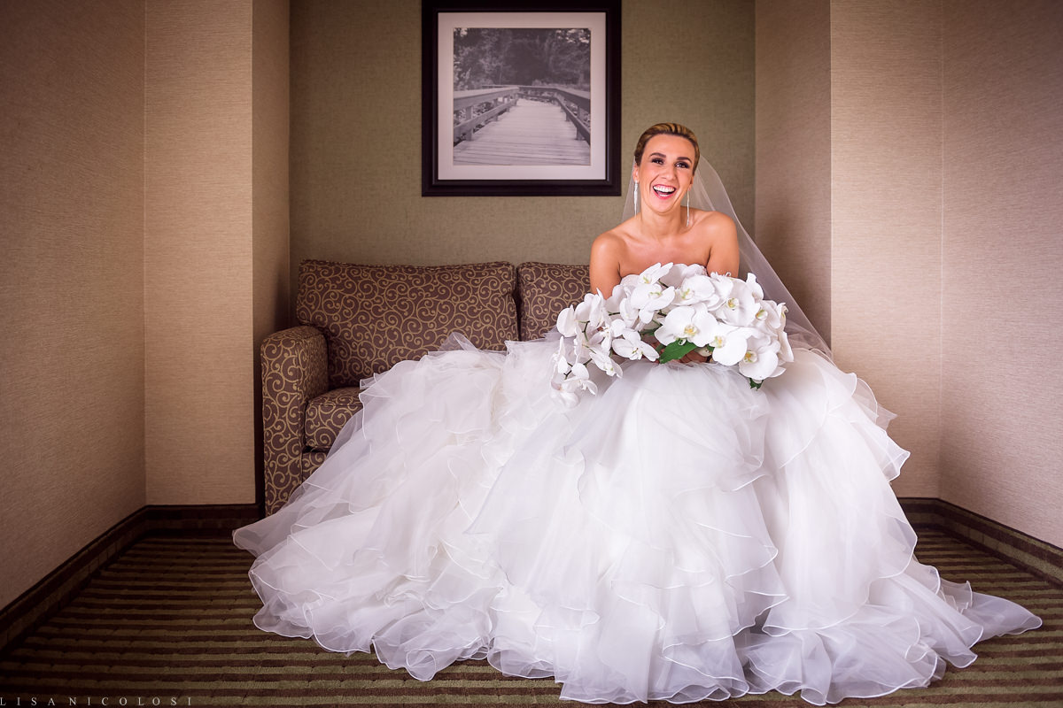 Wedding at The Larkfield - Long Island Wedding Photographer -Bridal portrait