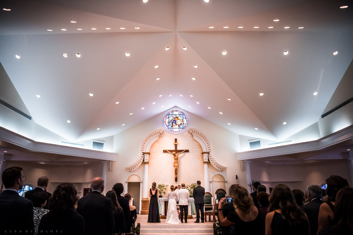 Wedding at Chateau at Coindre Hall - Long Island Wedding Photographers -Wedding ceremony at St Patrick's Catholic Church in Smithtown