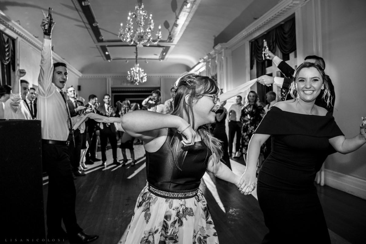 Wedding at Chateau at Coindre Hall - Long Island Wedding Photographers - Reception - Dancing