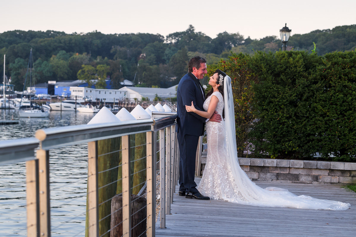 Wedding at Harbor Club at Prime -Bride and Groom portraits - Long Island Wedding Photographer