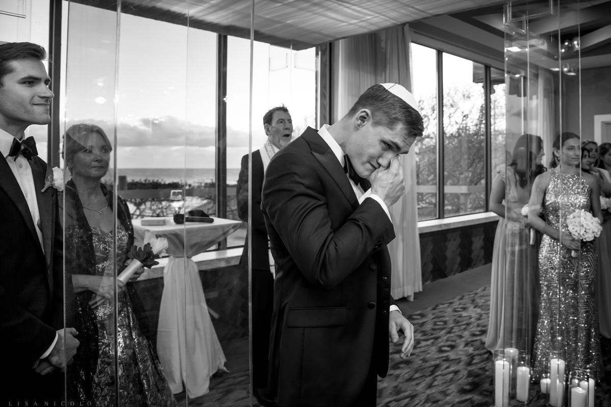 Wedding Ceremony at Gurney's Montauk - Montauk Wedding Photographer