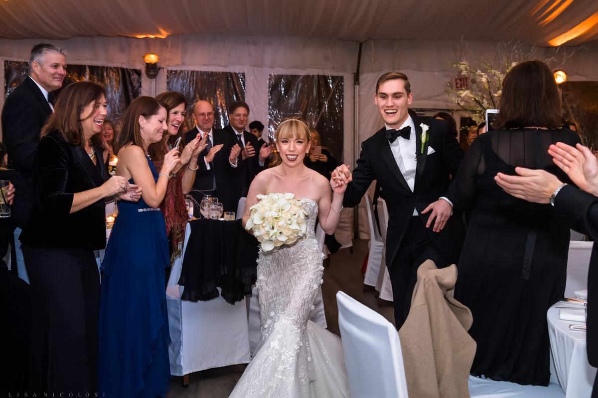 Wedding Reception at at Gurney's Montauk - Montauk Wedding Photographer