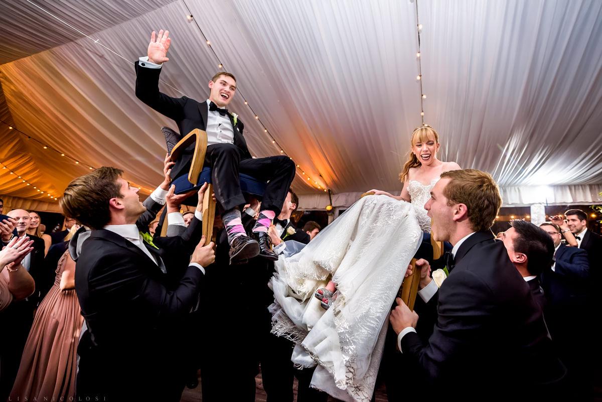Wedding Reception at at Gurney's Montauk - The Hora - Montauk Wedding Photographer