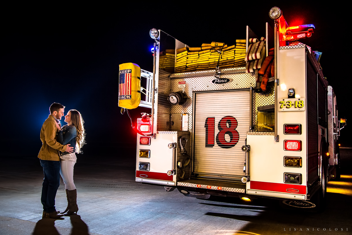 Southampton Engagement Session at The Southampton Firehouse