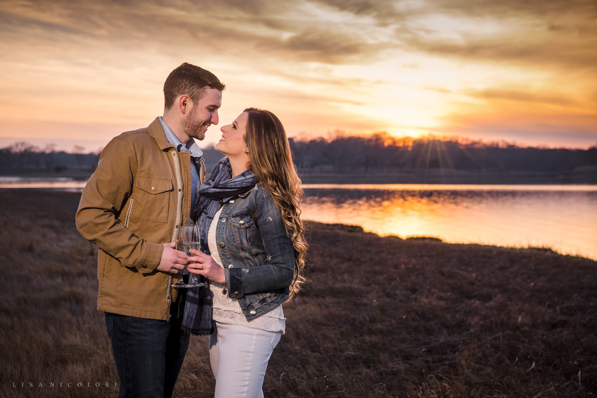 Southampton Engagement Session at Scallop Pond Preserve