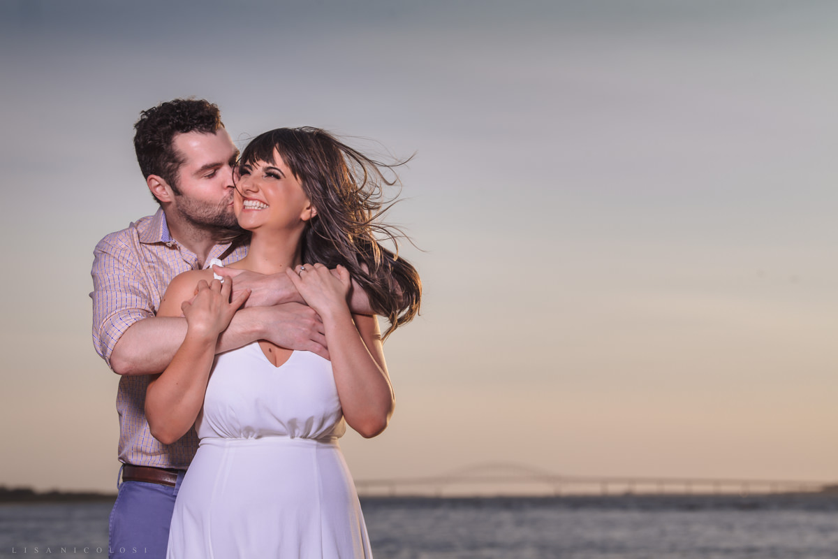 Fire Island Lighthouse Engagement Session - Engagement Portraits - Robert Moses State Park