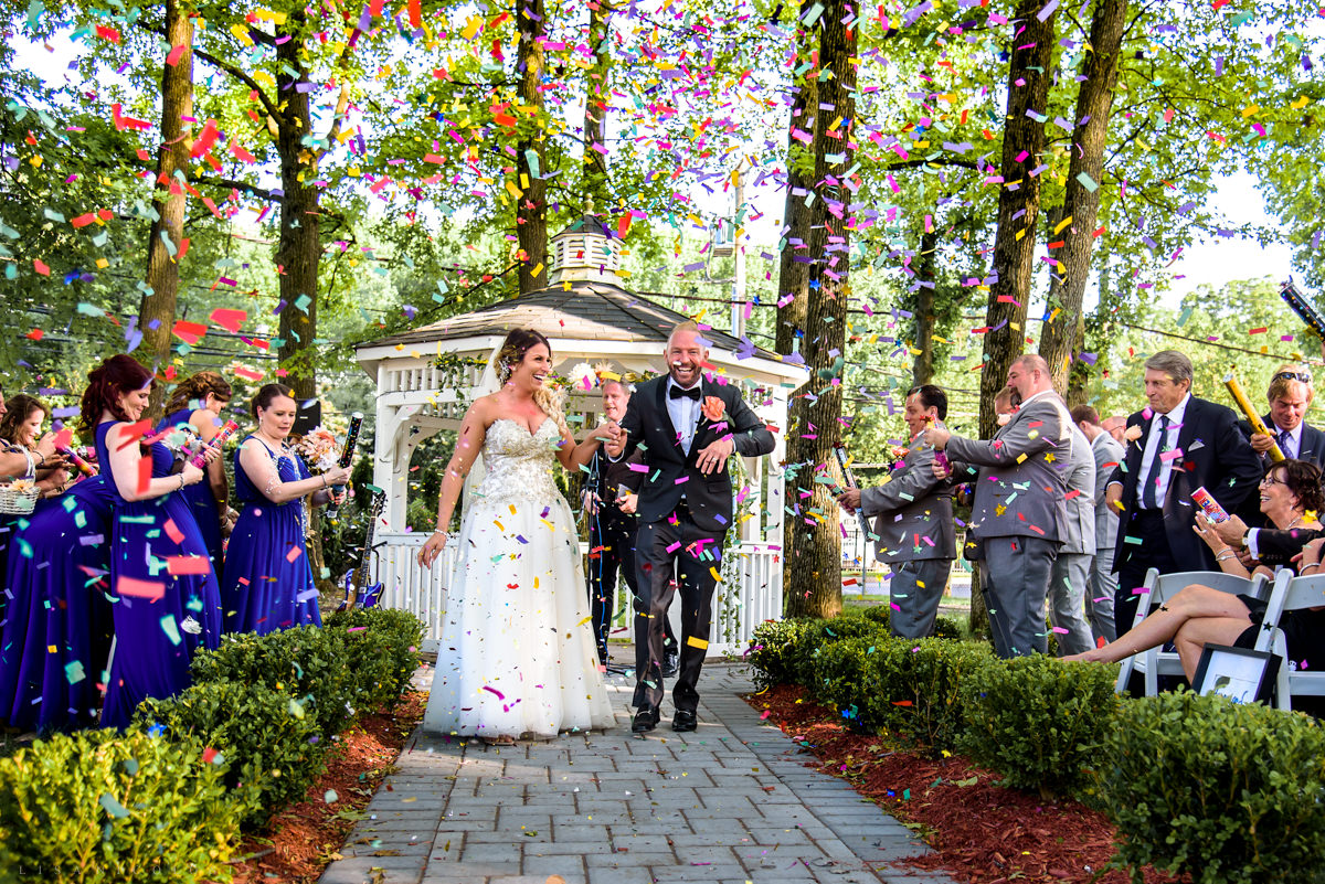 Staten Island Wedding Photographer - Wedding Ceremony at Taste Of Honey Catering