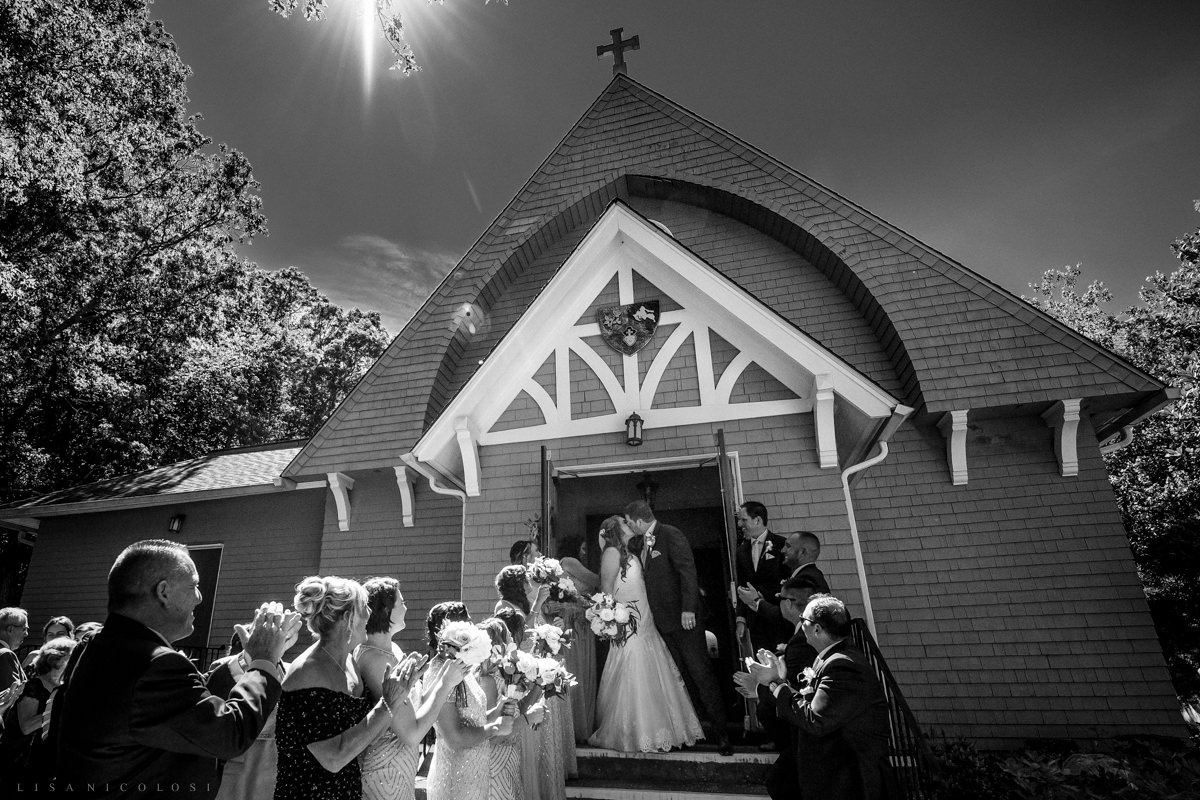 Shelter Island Wedding Ceremony at Our Lady of The Isle