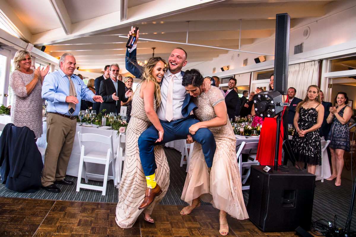 Shelter Island Wedding Reception at The Pridwin Hotel - Shelter Island Wedding Photographer