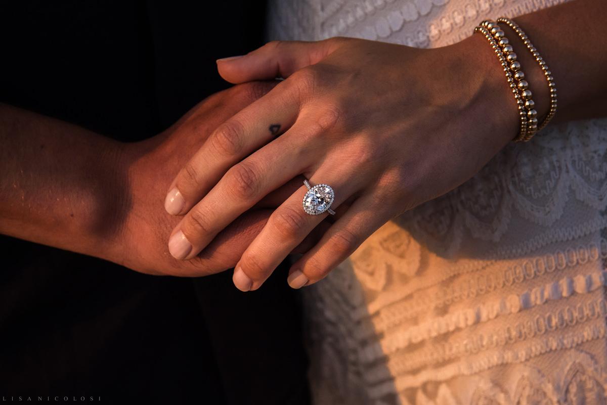 Tiffany Oval shaped engagement ring - Montauk engagement - Montauk Wedding photographer